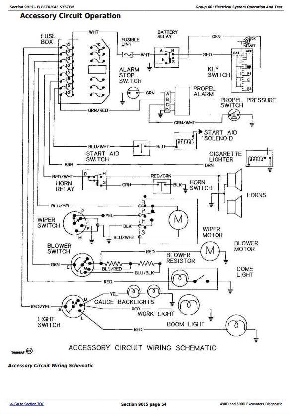 TM1389 - John Deere 490D and 590D Excavator Diagnostic, Operation and Test Service Manual - 1