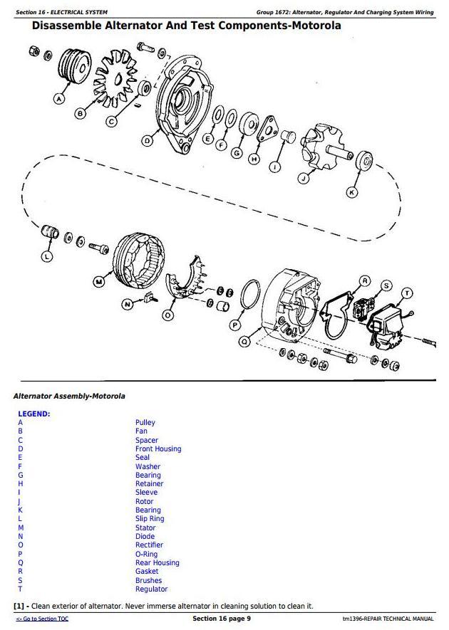 TM1396 - John Deere 790D, 790D-LC, and 892D-LC Excavator Service Repair Technical Manual - 1