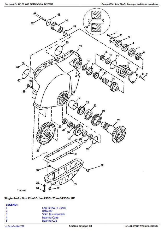 TM1404 - John Deere 450G, 550G, 650G Crawler Dozer; 455G, 555G Loader Service Repair Technical Manual - 2