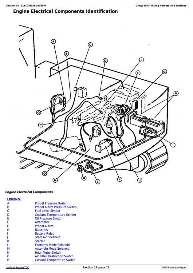 TM1443 - John Deere 290D Excavator Service Repair Technical Manual - 2