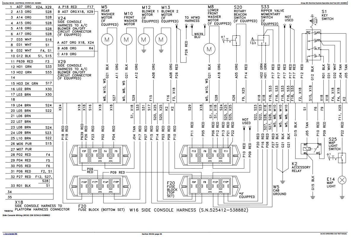 TM1452 - John Deere 670B, 672B, 770B, 770BH, 772B, 772BH Motor Graders Diagnostic&Test Service Manual - 1