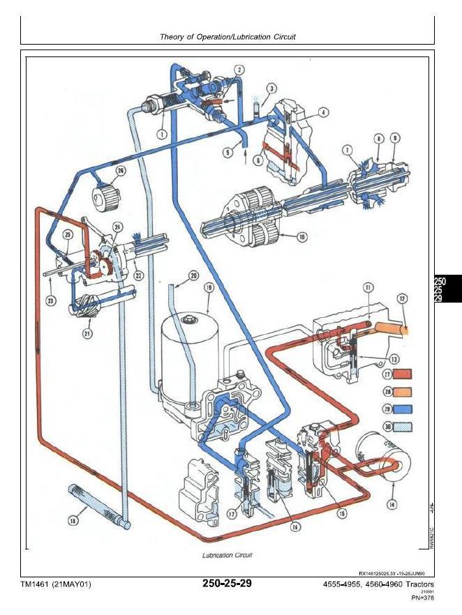 TM1461 - John Deere 4555, 4560, 4755, 4760, 4955, 4960 Tractors Diagnosis and Tests Service Manual - 1