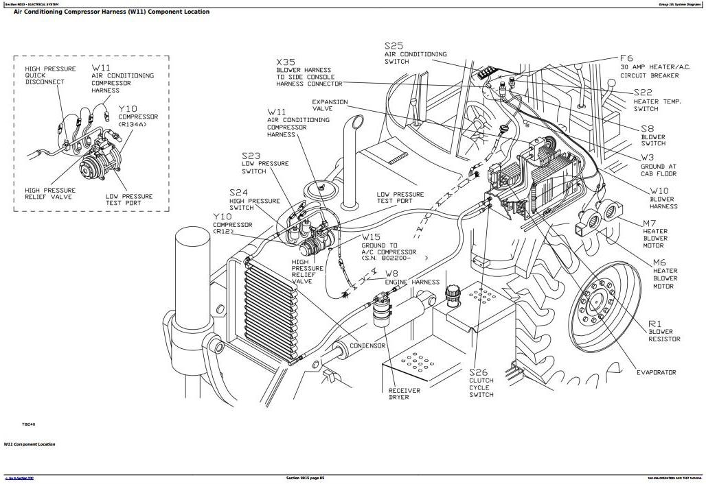 TM1496 - John Deere 300D, 310D Backhoe 315D Side Shift Loader Diagnostic, Operation and Test Manual - 3