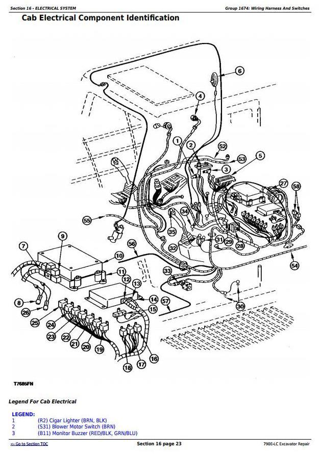 TM1507 - John Deere 790E-LC Excavator Service Repair Technical Manual - 1
