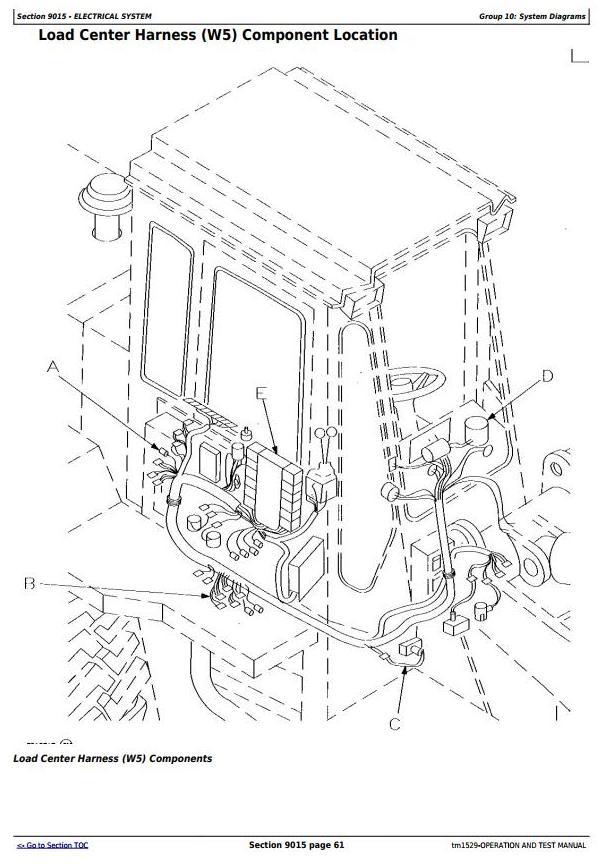 TM1529 - John Deere 544G, 544GH, 544G LL, 544G TC, 624G, 644G Loader Diagnostic&Test Service Manual - 2