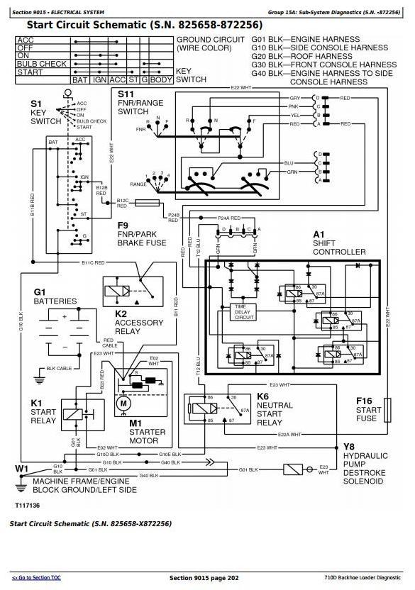 TM1537 - John Deere 710D Backhoe Loader Diagnostic, Operation and Test Service Manual - 1
