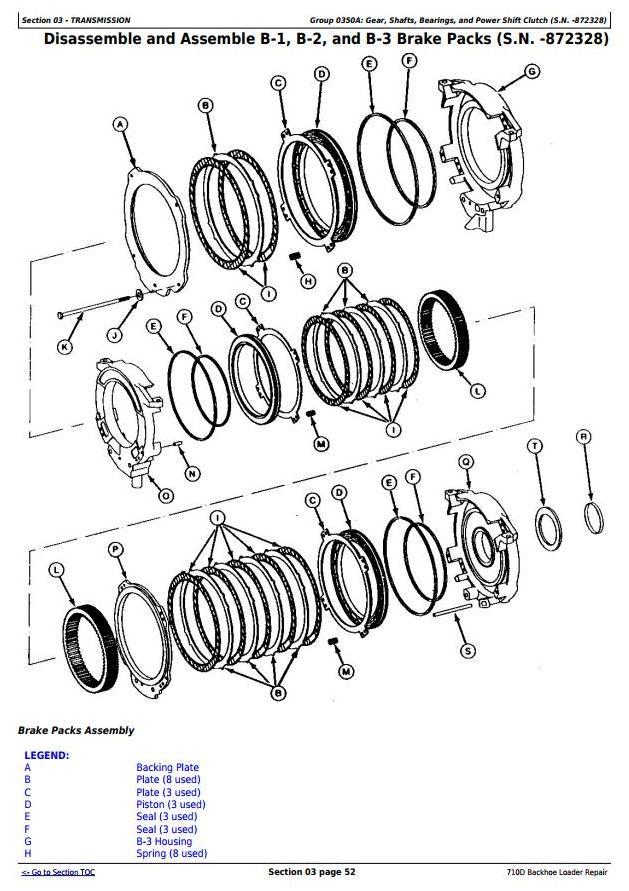 TM1538 - John Deere 710D Backhoe Loader Service Repair Technical Manual - 1