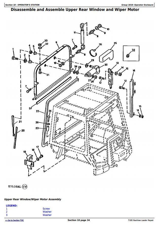 TM1538 - John Deere 710D Backhoe Loader Service Repair Technical Manual - 2