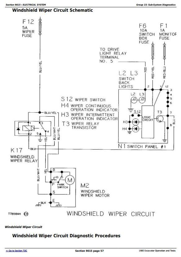 TM1539 - John Deere 190E Excavator Diagnostic, Operation and Test Manual - 3