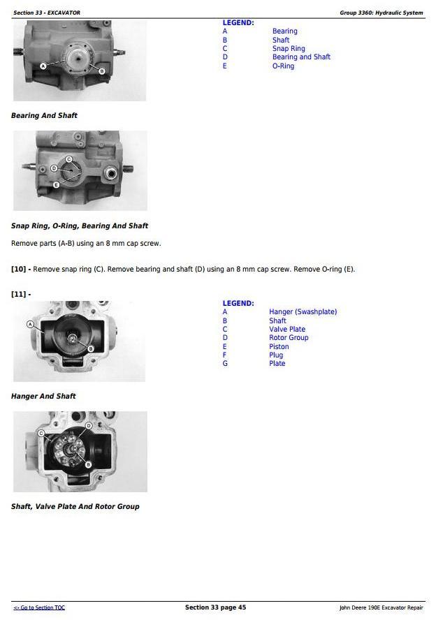 TM1540 - John Deere 190E Excavator Service Repair Technical Manual - 2
