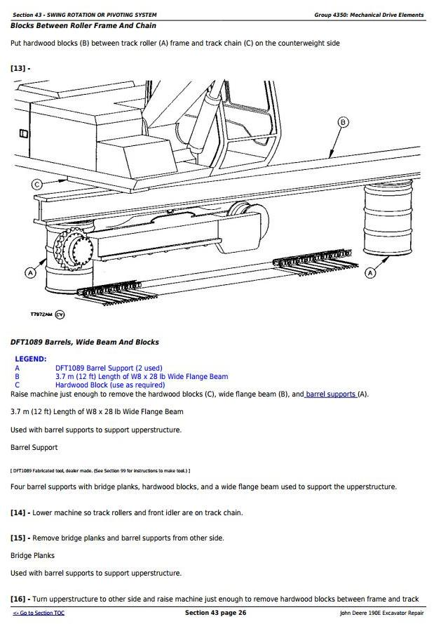 TM1540 - John Deere 190E Excavator Service Repair Technical Manual - 3
