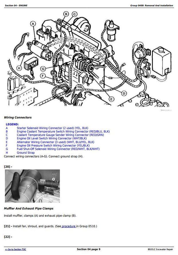 TM1542 - John Deere 892ELC Excavator Service Repair Technical Manual - 1