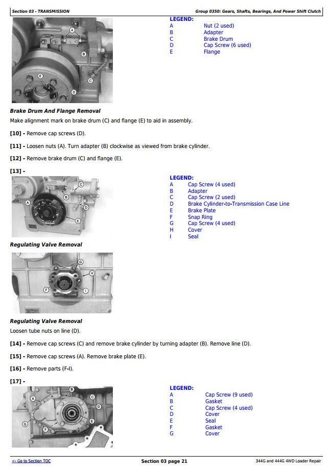 TM1558 - John Deere 344G and 444G 4WD Loader Service Repair Technical Manual - 2