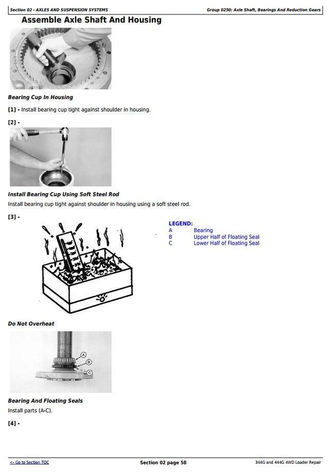 TM1558 - John Deere 344G and 444G 4WD Loader Service Repair Technical Manual - 3