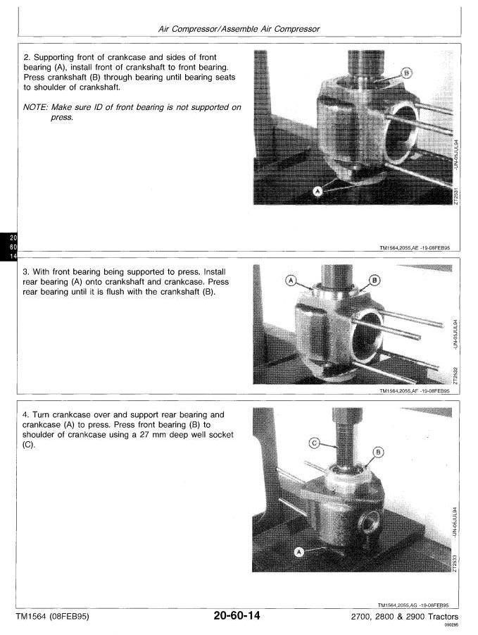 TM1564 - John Deere 2700, 2800, 2900 Tractors All Inclusive Technical Service Manual - 1