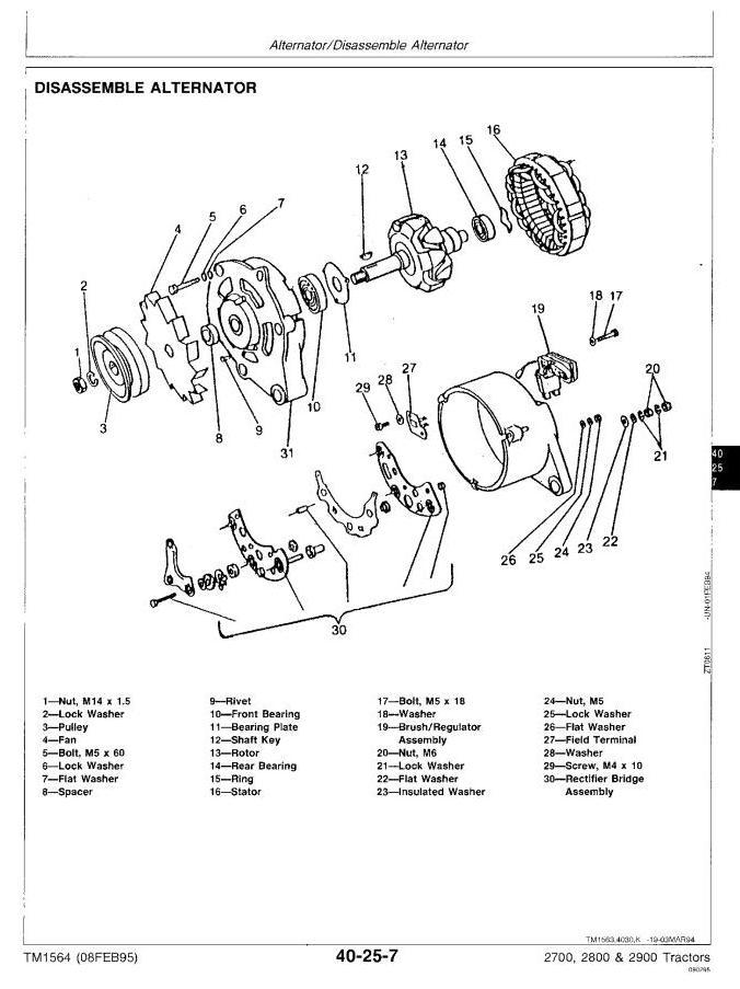TM1564 - John Deere 2700, 2800, 2900 Tractors All Inclusive Technical Service Manual - 2