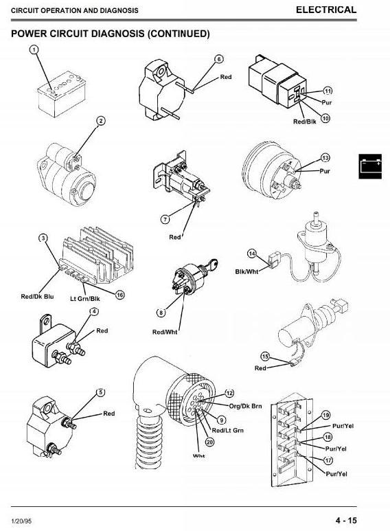 TM1565 - John Deere Skid Steer Loader Model 3375 (SN from 130001) Diagnostic, Repair Technical Service Manual - 3