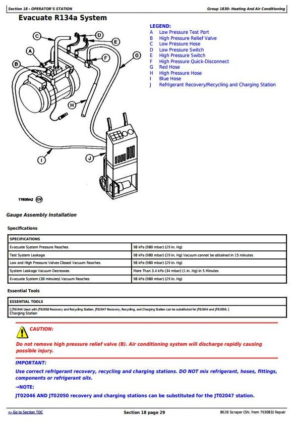 TM1570 - John Deere 862B Scraper (SN. from 793083) Service Repair Technical Manual - 2