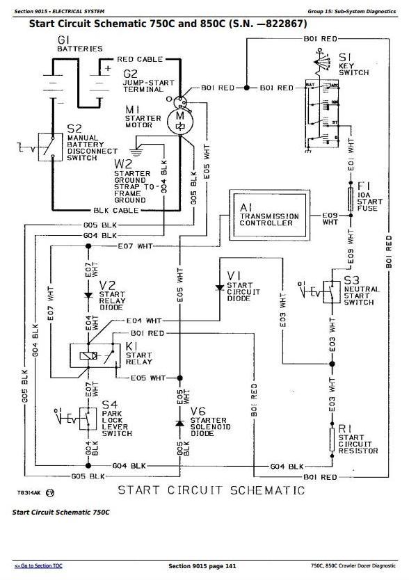TM1588 - John Deere 750C, 850C Crawler Dozer Diagnostic, Operation and Test Service Manual - 1