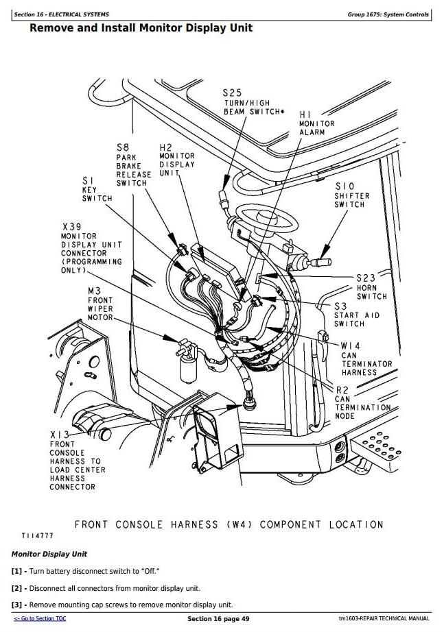TM1603 - John Deere 744H 4WD Loader and 744H MH Material Handler Service Repair Technical Manual - 3