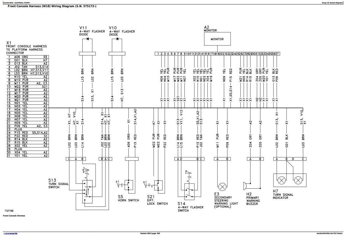 TM1606 - John Deere 670C, 670CH, 672CH, 770C, 770CH, 772CH Motor Grader Diagnostic Service Manual - 2