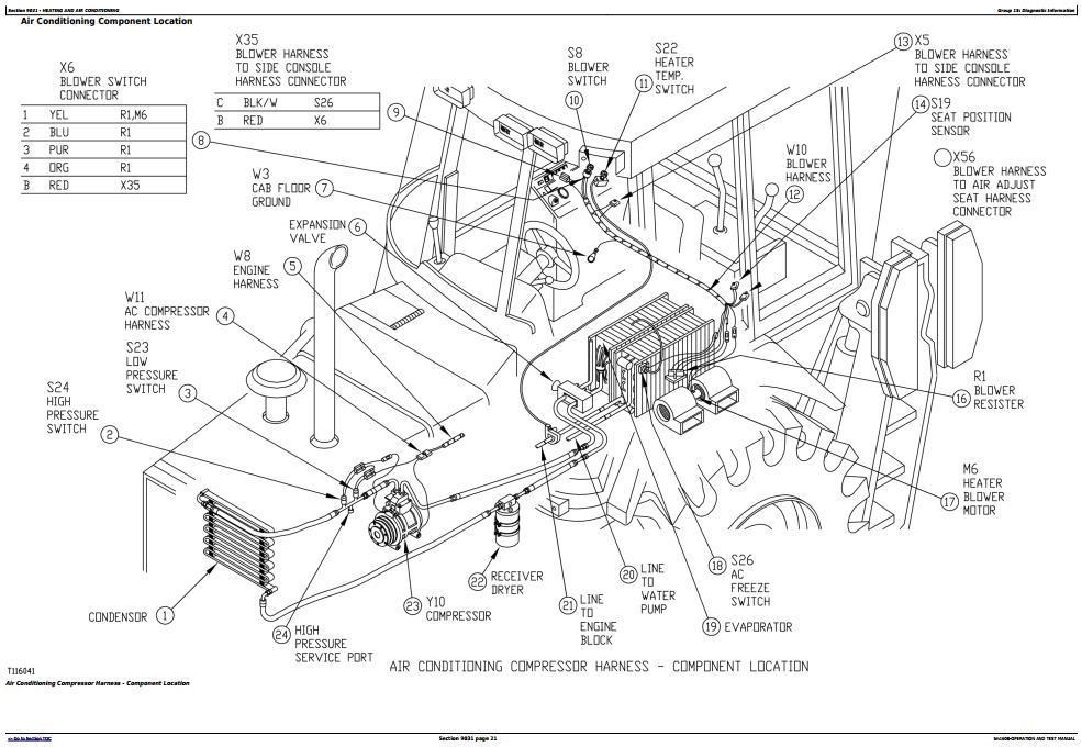 TM1608 - John Deere 310SE Backhoe, 315SE Side Shift Loaders Diagnostic, Operation&Test Service Manual - 3