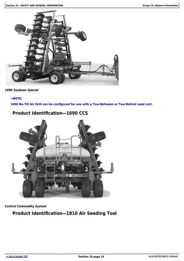 TM1616 - John Deere CCS Air Seeding Tools Technical Service Manual - 3