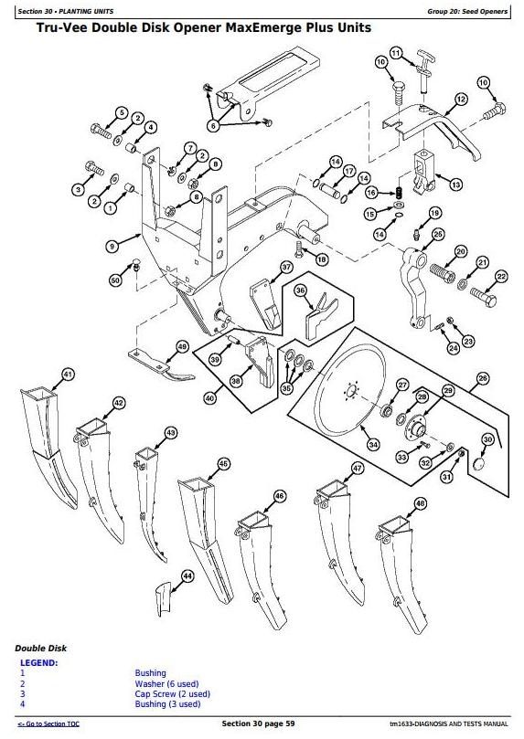 TM1633 - John Deere 1780 Front-Fold Drawn Conservation Planters Diagnostic and Tests Service Manual - 1