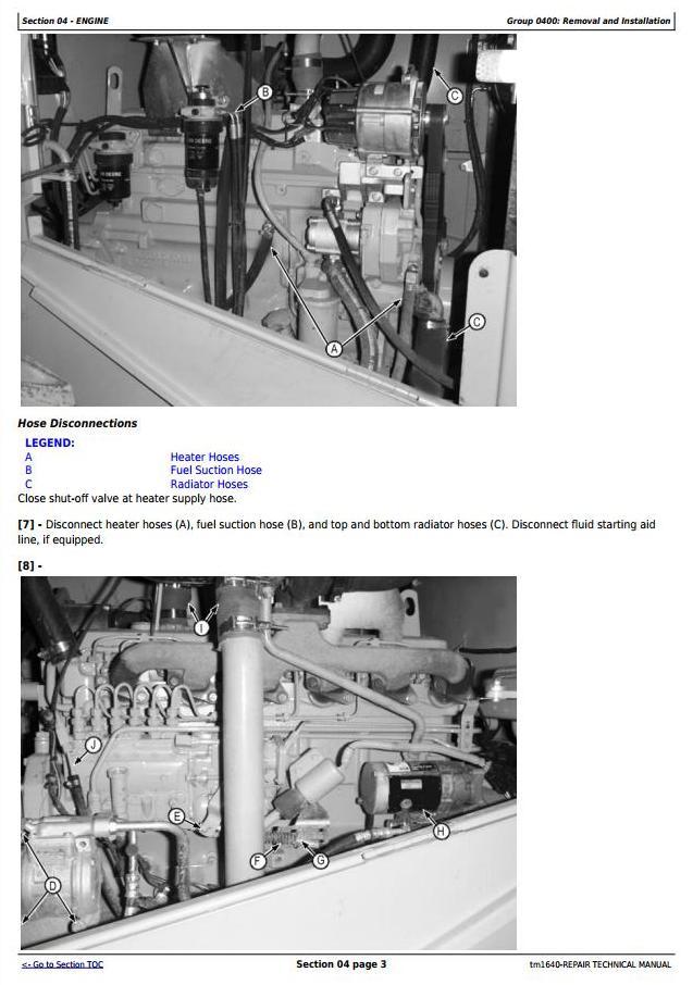 TM1640 - John Deere 624H 4WD Loader and TC62H Tool Carrier Loader Service Repair Technical Manual - 3