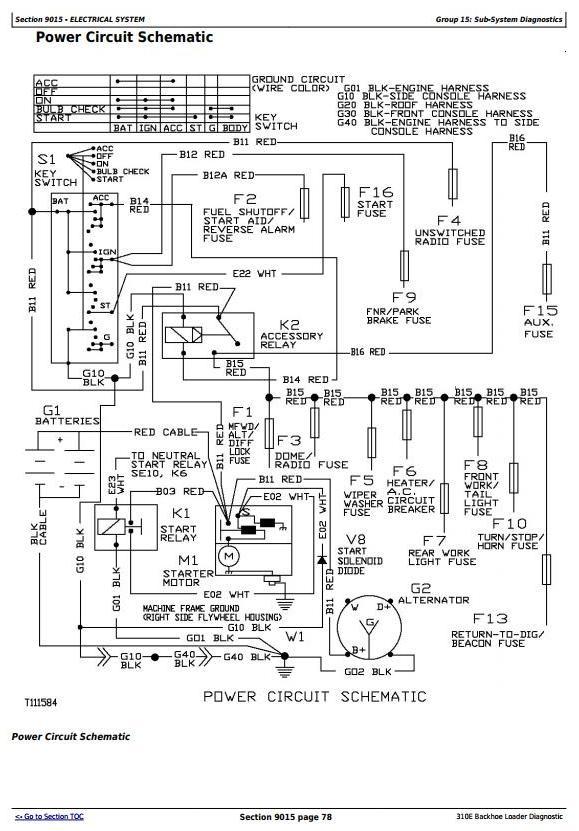 TM1648 - John Deere 310E Backhoe Loader Diagnostic, Operation and Test Service Manual - 2