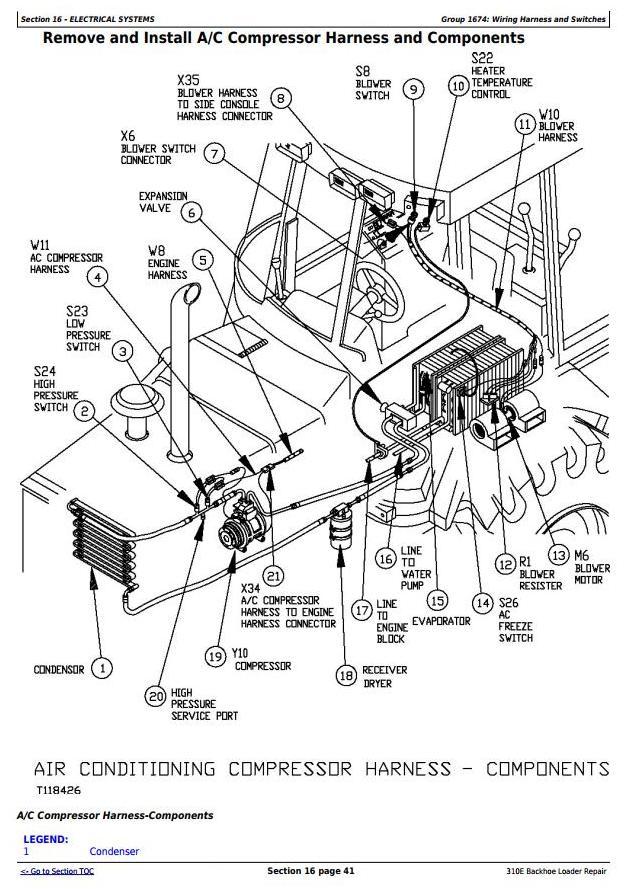 TM1649 - John Deere 310E Backhoe Loader Service Repair Technical Manual - 3