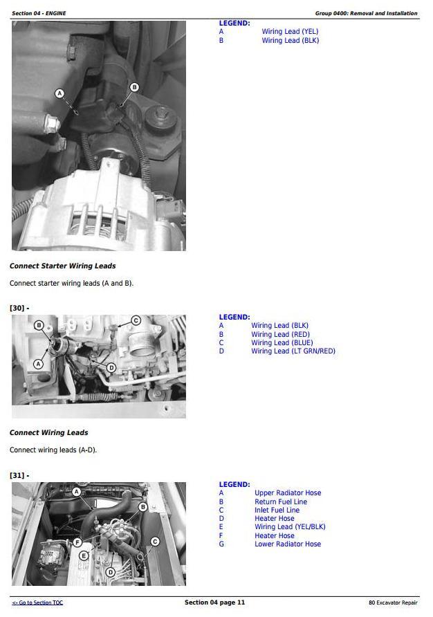 TM1656 - John Deere 80 Midi Excavator Service Repair Technical Manual - 2