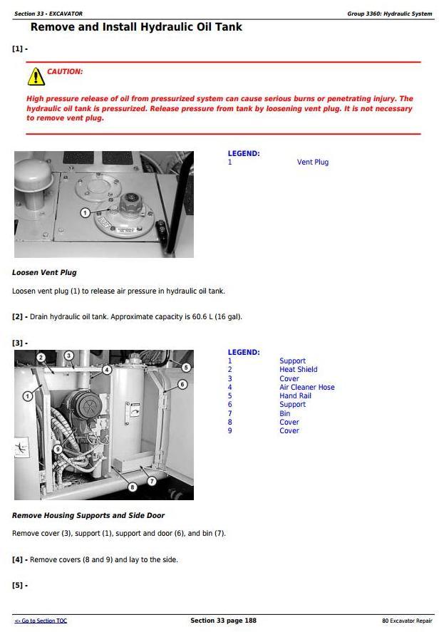 TM1656 - John Deere 80 Midi Excavator Service Repair Technical Manual - 3