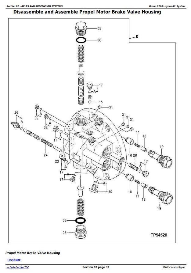 TM1658 - John Deere 110 Excavator Service Repair Technical Manual - 1