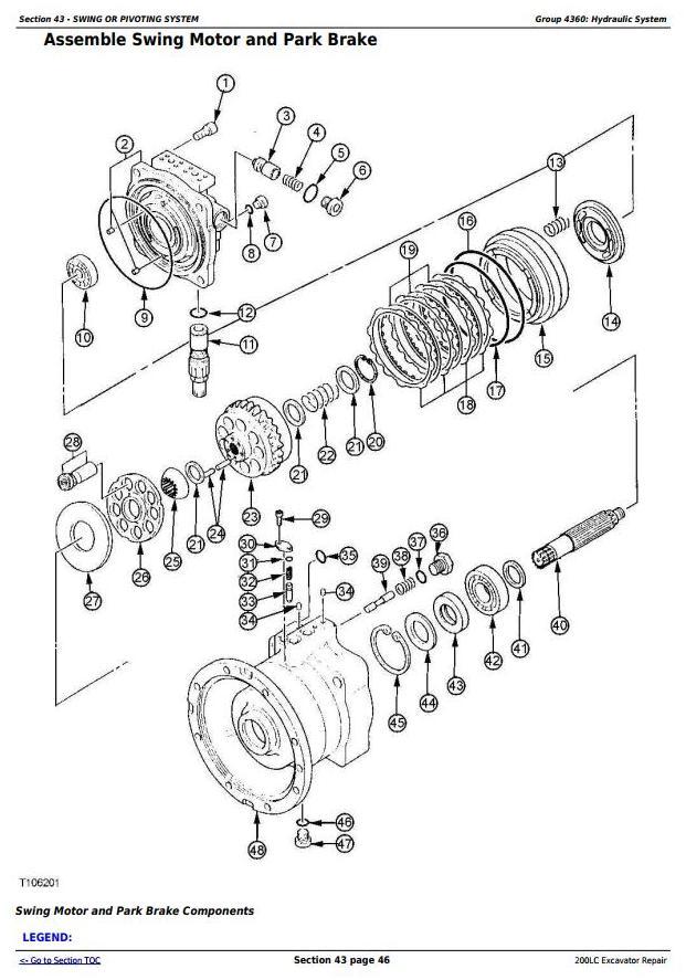 TM1664 - John Deere 200LC Excavator Service Repair Manual - 3