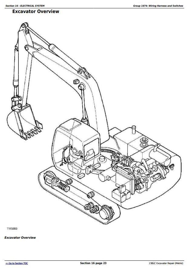 TM1666 - John Deere 230LC Excavator (Metric) Service Repair Technical Manual - 3