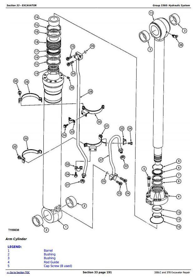 TM1670 - John Deere 330LC and 370 Excavator Service Repair Technical Manual - 3