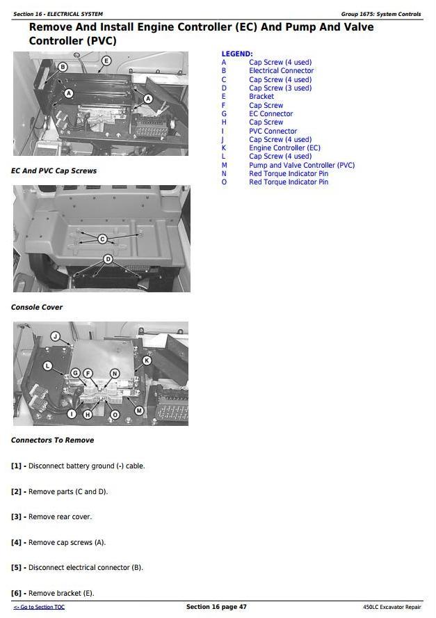 TM1672 - John Deere 450LC Excavator Service Repair Technical Manual - 1
