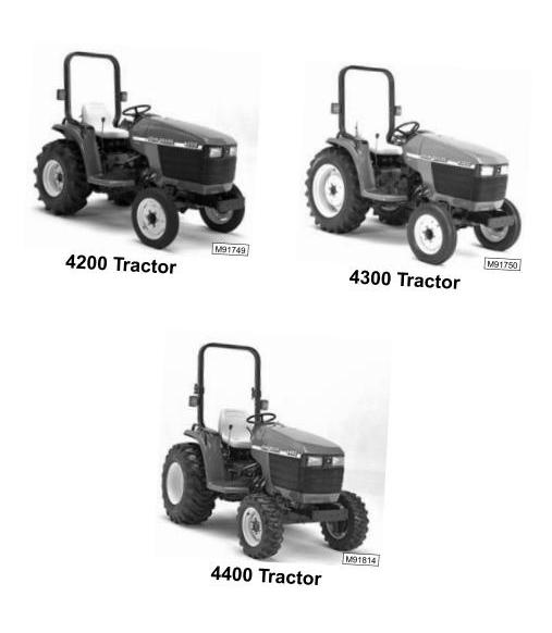 TM1677 - John Deere 4200, 4300, 4400 Compact Utility Tractors Technical Service Manual - 1
