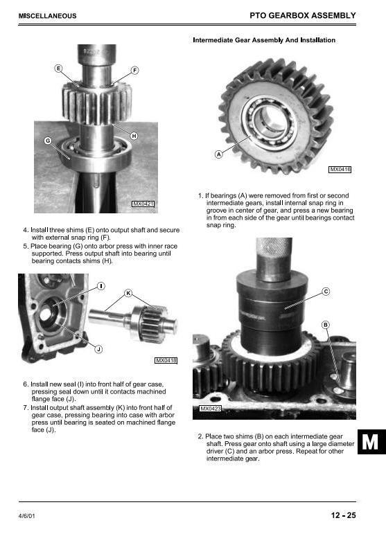 TM1677 - John Deere 4200, 4300, 4400 Compact Utility Tractors Technical Service Manual - 3
