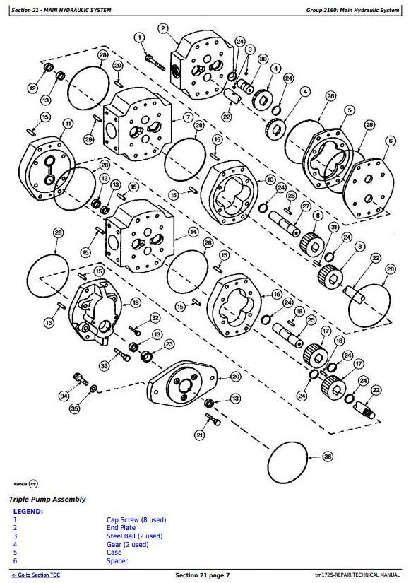 TM1725 - John Deere 862B Series II Scraper (SN. 818323-) Service Repair Technical Manual - 2