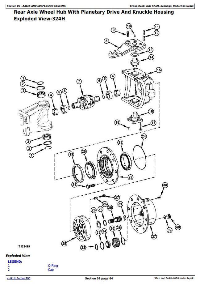 TM1746 - John Deere 324H and 344H 4WD Loaders Service Repair Technical Manual - 2