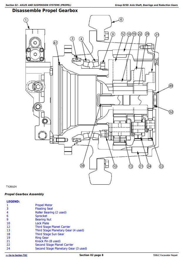 TM1808 - John Deere 550LC Excavator Service Repair Technical Manual - 1