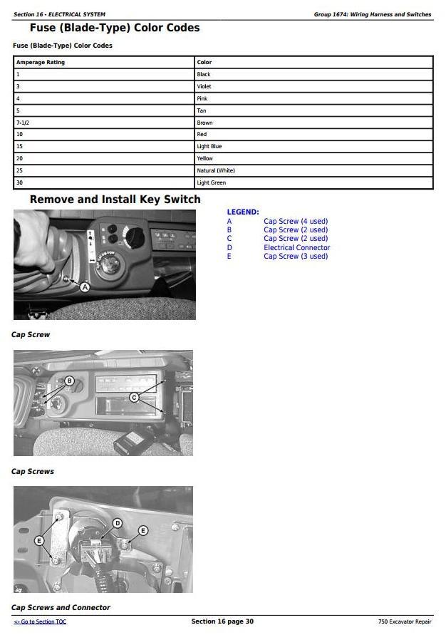 TM1810 - John Deere 750 Excavator Service Repair Technical Manual - 2