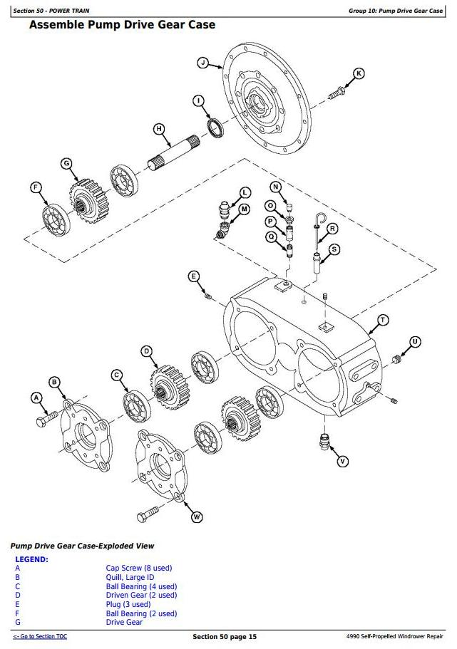 TM1819 - John Deere 4990 Self-Propelled Hay and Forage Windrower Service Repair Technical Manual - 2