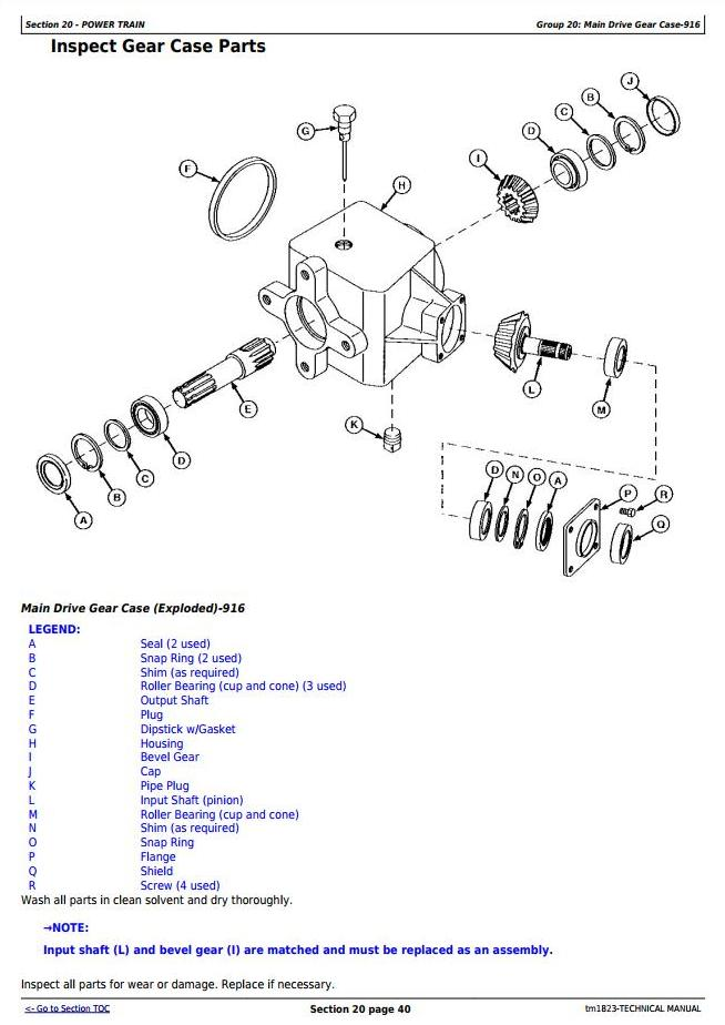 TM1823 - John Deere 916, 926 and 936 Rotary Mower-Conditioners Diagnostic and Tests Service Manual - 2