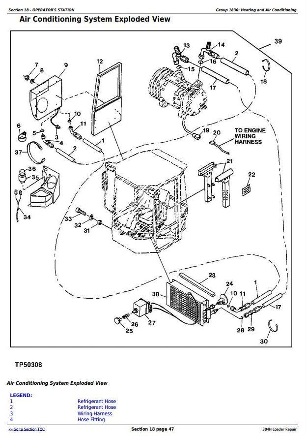 TM1864 - John Deere 304H 4WD Loader Service Repair Technical Manual - 3
