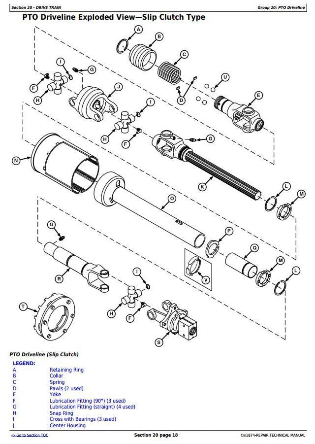 TM1874 - John Deere 447, 457, 467 Silage Special, 547, 557, 567 Round Balers (SN.-300000) Repair Manual - 1