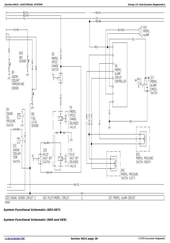 TM1896 - John Deere 17ZTS Compact Excavator Diagnostic, Operation and Test Service Manual - 2