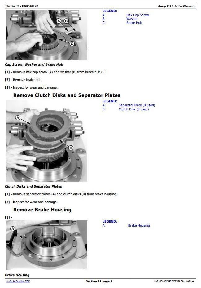 TM1915 - John Deere 670C, 670CH, 672CH, 770C, 770CH, 772CH Series II Motor Grader Service Repair Manual - 3